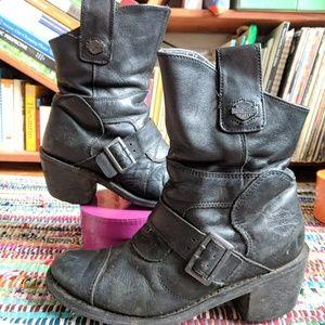 Harley Davidson vintage leather boots